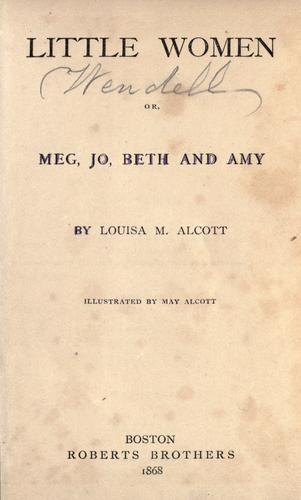 Download Little women, or, Meg, Jo, Beth and Amy