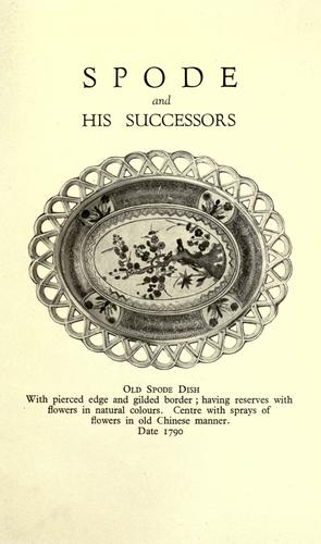 Download Spode and his successors
