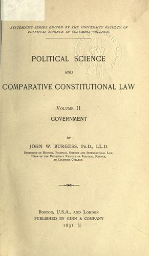 Download Political science and comparative constitutional law.