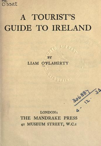 Download A tourist's guide to Ireland