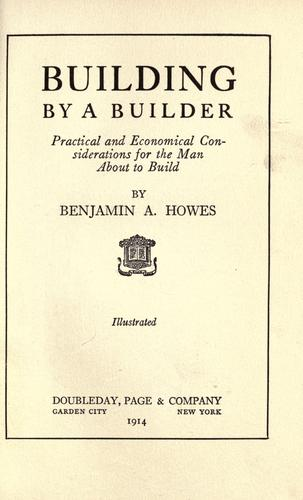 Building by a builder