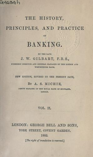 The history, principles, and practice of banking