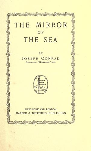 Download The mirror of the sea