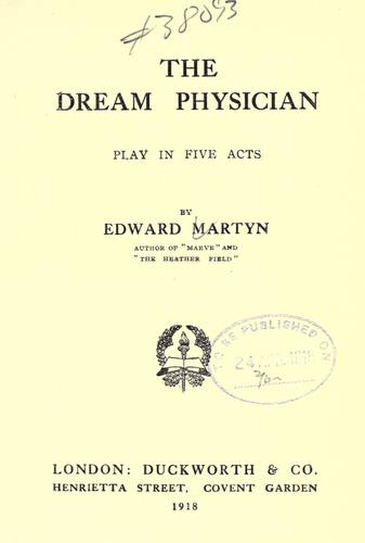 Download The dream physician