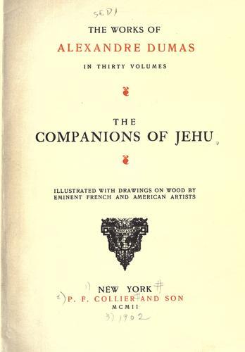 The companions of Jehu.