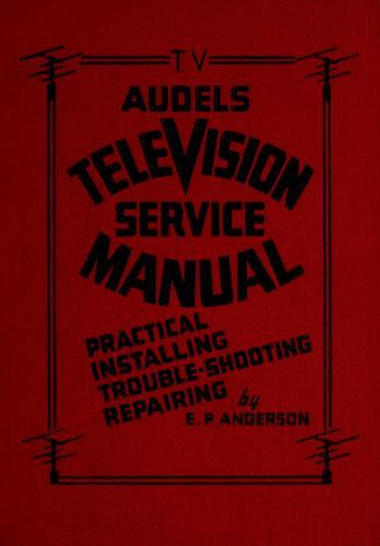 Download Audels television service manual