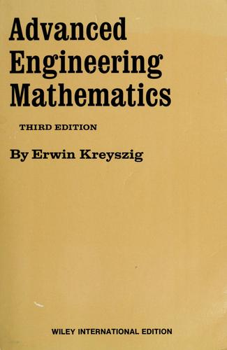 Download Advanced engineering mathematics.
