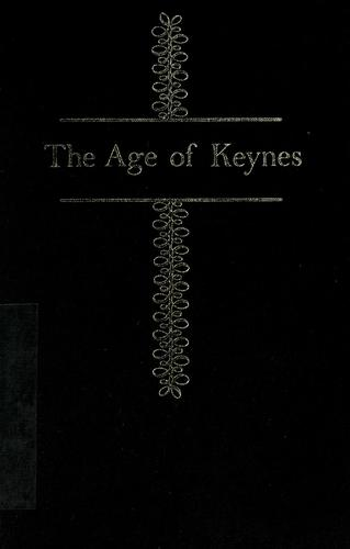 The age of Keynes.