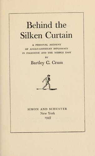 Download Behind the silken curtain