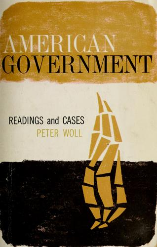 Download American Government: readings and cases.