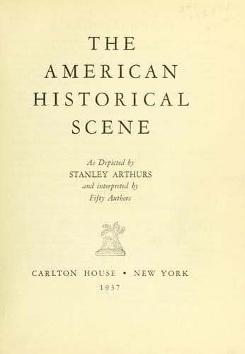 Download The American historical scene