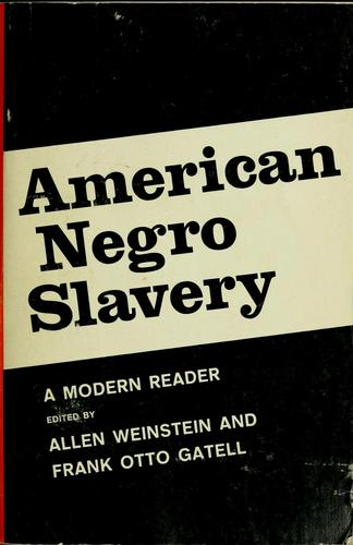 Download American Negro slavery