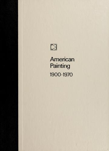 Download American painting, 1900-1970
