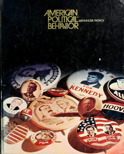 Download American political behavior