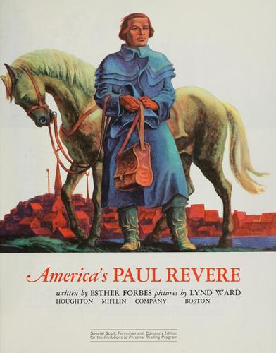 America's Paul Revere by Esther Forbes