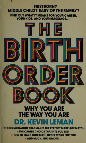 Download The birth order book