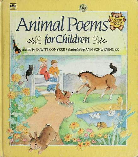 animal poems for children. Animal poems for children