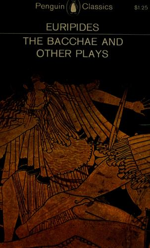 Download The  Bacchae, and other plays