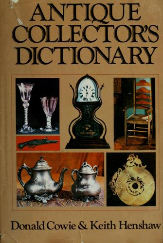 Download Antique collector's dictionary