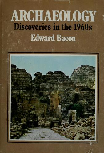 Archaeology: discoveries in the 1960's.