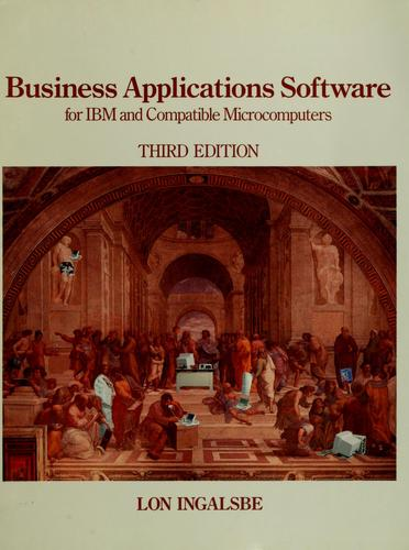 Business applications software for IBM and compatible microcomputers