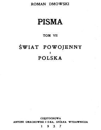 Świat powojenny i Polska.