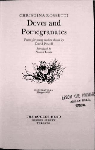 Download Doves and Pomegranates