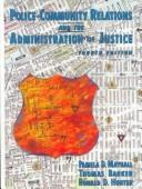 Download Police-community relations and the administration of justice