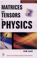 Download Matrices and tensors in physics