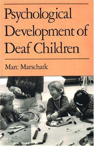 Download Psychological development of deaf children