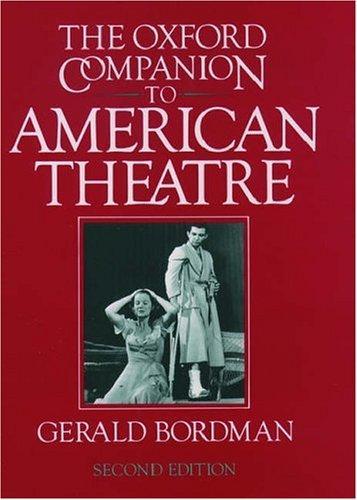 Download The Oxford companion to American theatre