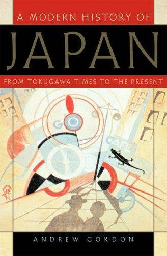 A Modern History of Japan