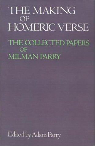 Download The making of Homeric verse