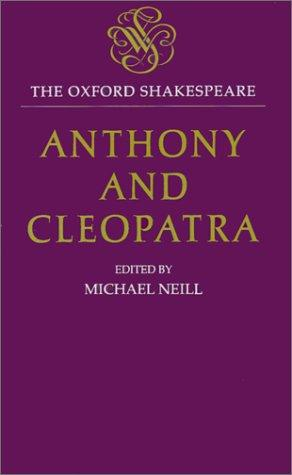 The tragedy of Anthony and Cleopatra