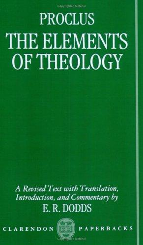 The elements of theology =