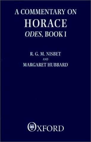Download A commentary on Horace