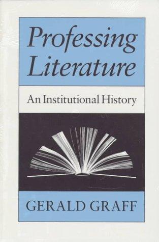 Download Professing Literature