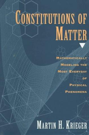 Download Constitutions of Matter