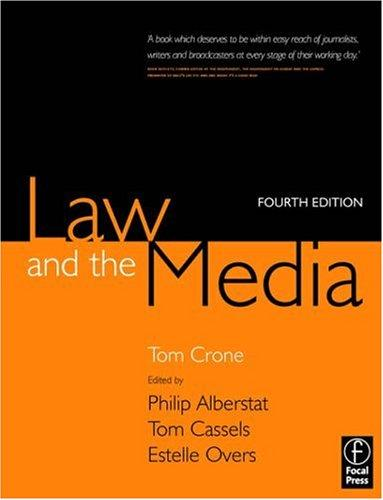 Download Law and the Media