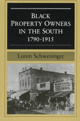 Download Black property owners in the South, 1790-1915