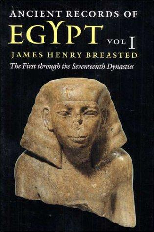 Download Ancient Records of Egypt