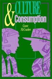 Culture And Consumption: New Approaches To The Symbolic Character Of Consumer Goods And Activities PDF Download