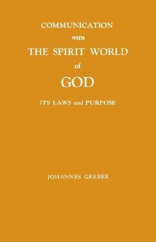communication with the spirit world of god