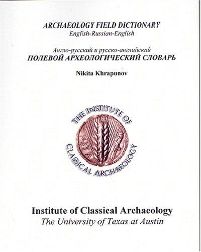 Download Archaeology Field Dictionary