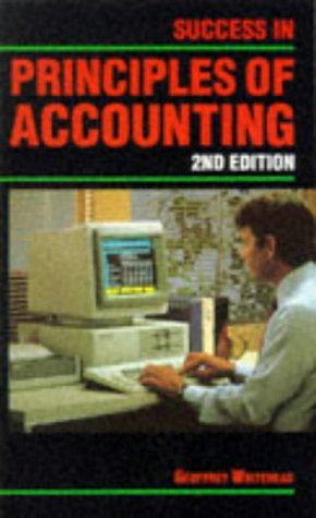 Download Success in Principles of Accounting (Success Studybooks)