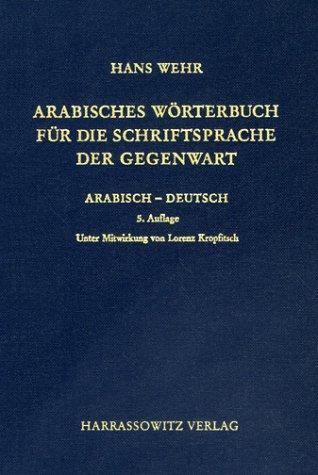 Download Arabisches Wörterbuch für die Schriftsprache der Gegenwart