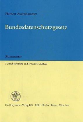 Download Bundesdatenschutzgesetz