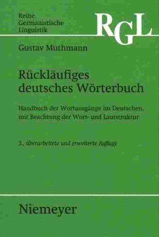 Rückläufiges deutsches Wörterbuch