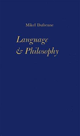 Language and Philosophy: