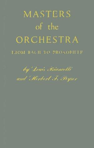 Masters of the orchestra from Bach to Prokofieff